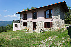 Restored stone house with barn and other stone properties for restoration - Group of Langhe Stone Houses